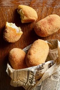 Image de Croquettes au jambon truffé (par 4)